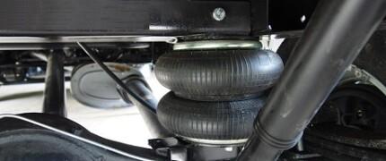 установка пневмоподвески на автомобиль