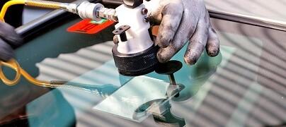 ремонт сколов на стекле