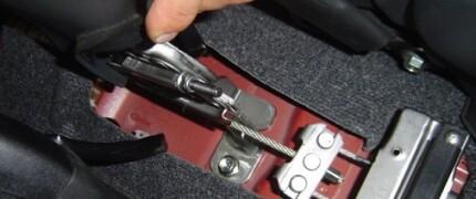 регулировка ручного тормоза